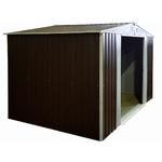 Сарай металлиеский 300*195*185см, раздвижные двери 145см , Мe 0,4мм