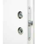 Дверное полотно VERDA  ДГ21-07 белое   2000х600*40мм с четвертью
