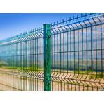 Панель из оцинкованной сетки с ПП(зеленые) 200/50 1530*2500/3мм