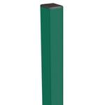 Столб 50*50*2мм 2,3 м  зеленый
