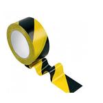 Лента сигнально-оградительная 50мм*100 м/желто-черная