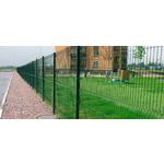 Панель из оцинкованной сетки с ПП(зеленые) 200/55  1730*2500/3.5мм