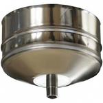 Заглушка с конденсатоотводом (AISI 430 0,8) D115мм