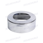 Заглушка с отверстием  (AISI 430 0,5мм) D120/200мм