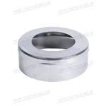 Заглушка с отверстием (AISI 430 0,8мм)  D130/200мм