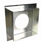 Проходной узел 400*400мм (оц.0,5мм/AISI430 0.5мм )D120