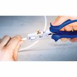 Клещи для снятия изоляции 150мм с регулировочным винтом.    PLR013