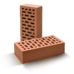 Кирпич  лицевой одинарный (утолщенная стенка) М-150