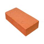 Кирпич печной для камина полнотелый одинарный красный, М-200, Витебск цех1