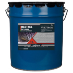 Мастика резино-битумная МБР Х-75,16кг
