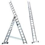 Лестница алюминевая 3*16, вес 36,6кг