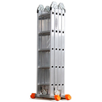Лестница-Трансформер 4*3 вес 12,9кг,высота 3,46  вес 10,8кг  арт 4033 8