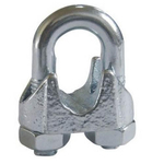 Зажим для стальных канатов оцинк. DIN 741 М10