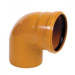Отвод РН d-200/90 мм наружная канализация