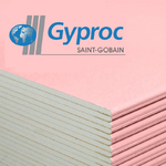 Gyproc Гипсокартон ГКЛО 12,5x1200x2500