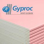 Gyproc Гипсокартон огнестойкий ГКЛО 12,5x1200x2500