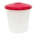 Бак круглый 55 л с крышкой (пищевой)