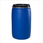 Бочка пластиковая синяя
