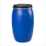 Бочка пластиковая синяя  127 дм3/127 литров/