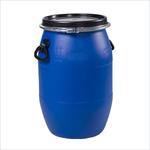 Бочка пластиковая синяя 65 дм3 /65 литров/