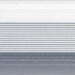 Стык 38мм,0.9м  Серебро матовый анодированый