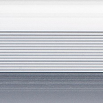 Стык 38мм,1.35м Серебро матовый анодированый