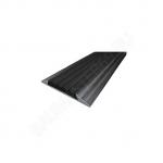 Стык 42мм,0.9м Алюминий с резиновой вставкой