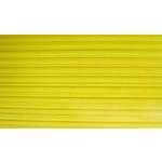 Сотовый поликарбонат для козырька 4мм 2100х6000м Желтый