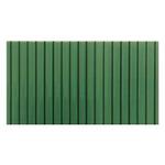 Сотовый поликарбонат для козырька 4мм 2100х6000м Зеленый