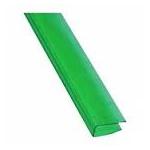 Заглушка для поликарбоната  8мм , 2,1м зелёный