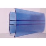 Соединитель поликарбоната ,6м Синий. 6мм