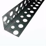 Профиль угловой перфорированный алюминиевый  21х21мм,3м