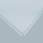 Плита к подвесному  потолку  металлическая  600x600 мм Белый ГЛЯНЕЦ Т-24 А916RUS /алюм/