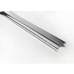Раскладка к реечному потолку, металлик (4м)