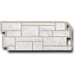 Фасадная панель  FineBeer  Сланец Мелованый Белый 1137х470мм