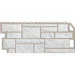 Фасадная панель FineBeer  Камень Белый 1125*463мм