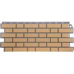 Фасадная панель FineBeer Кирпич Клинкерный  Желтый 1130*463мм