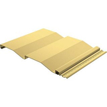 Сайдинг ТЕКОС  Светло - желтый 3,66 * 0,23 м D4.D5 ель
