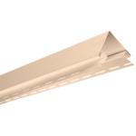 Планка Альта-Профиль угол наружный, Розовый 3050х98,4мм(Россия)