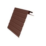 Планка Ветровая доска J-фаска  коричневый,3,05м