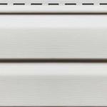Сайдинг Белый 3050х230 мм