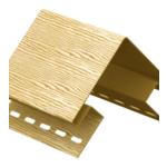 Наружный угол Дуб Золотой ,3.05м Тимбер-Блок