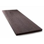 Планкен Темно-коричневый (4000х150х10мм) (Радиальный), SW