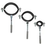 Крепёж для труб металл с резин. прокладкой FT31003    1/2