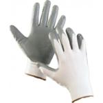 Перчатки обливные нейлоновые цветные 024