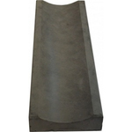 Водосток темно-серый (черный) 500*160*50 мм В