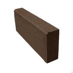 Бордюр 500*210*35 мм коричневый Тверь
