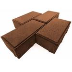 Брусчатка КИРПИЧ 200*100*60 мм шоколад Тверь