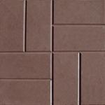 Плитка тротуарная  8 камней 400*400*50 мм коричневый  (Тверь)