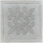 Плита тротуарная  Цветок 350*350*50 мм серая Тверь